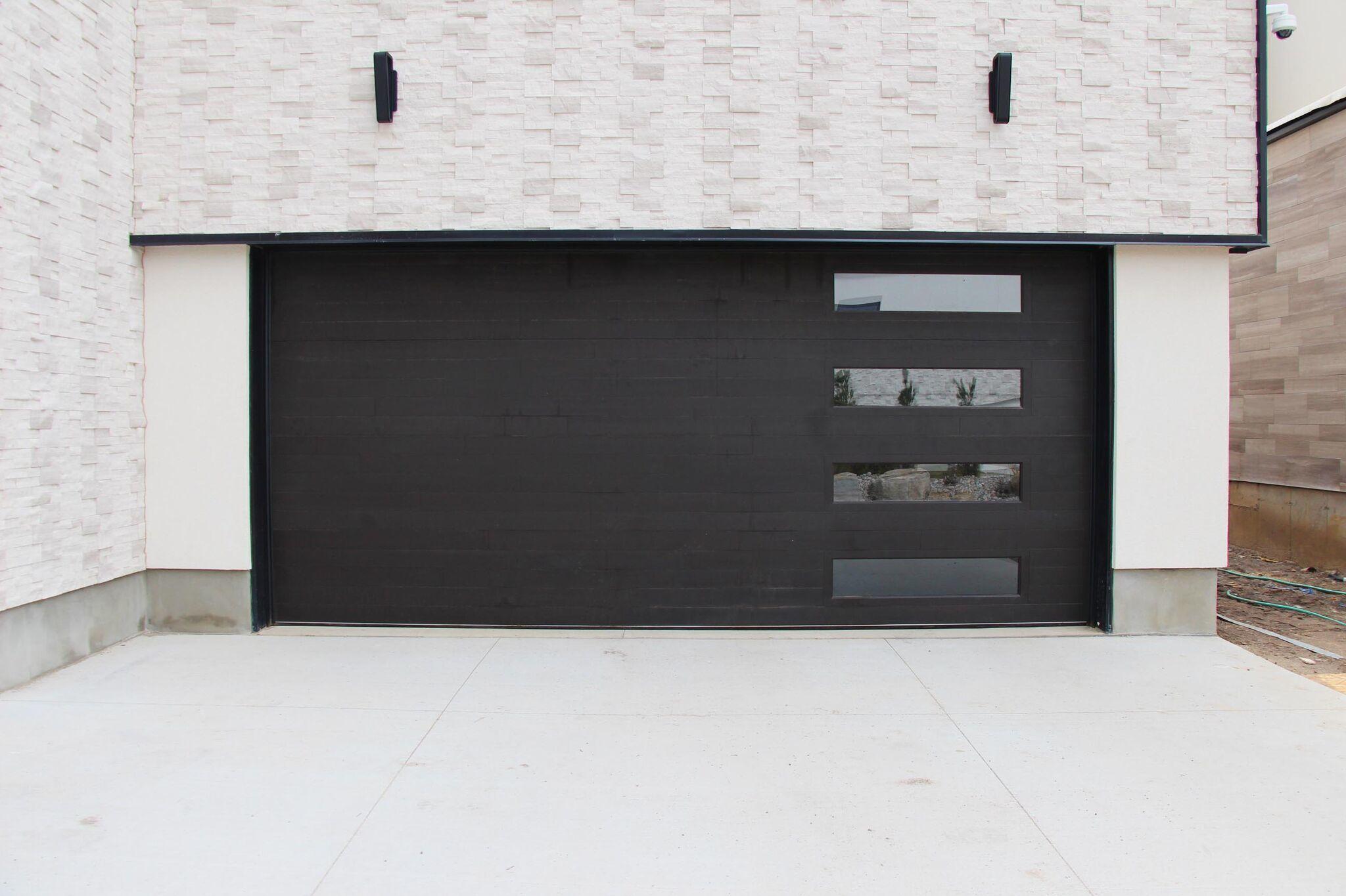 Black Garage Door Styles To Suit Your Home Creative Door