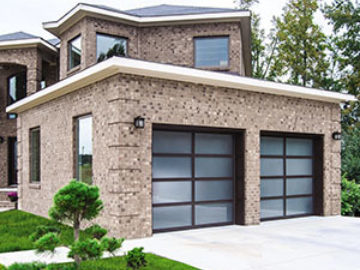 Athena Glass Panel Garage Door