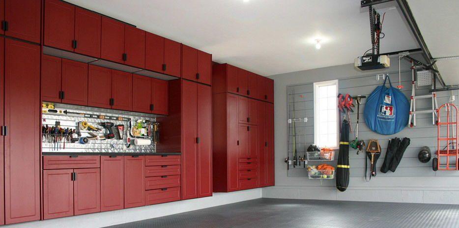 Garage Strategies new cabinets