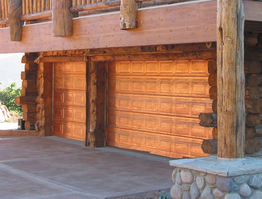 Creative Door_Copper_Garage_Door