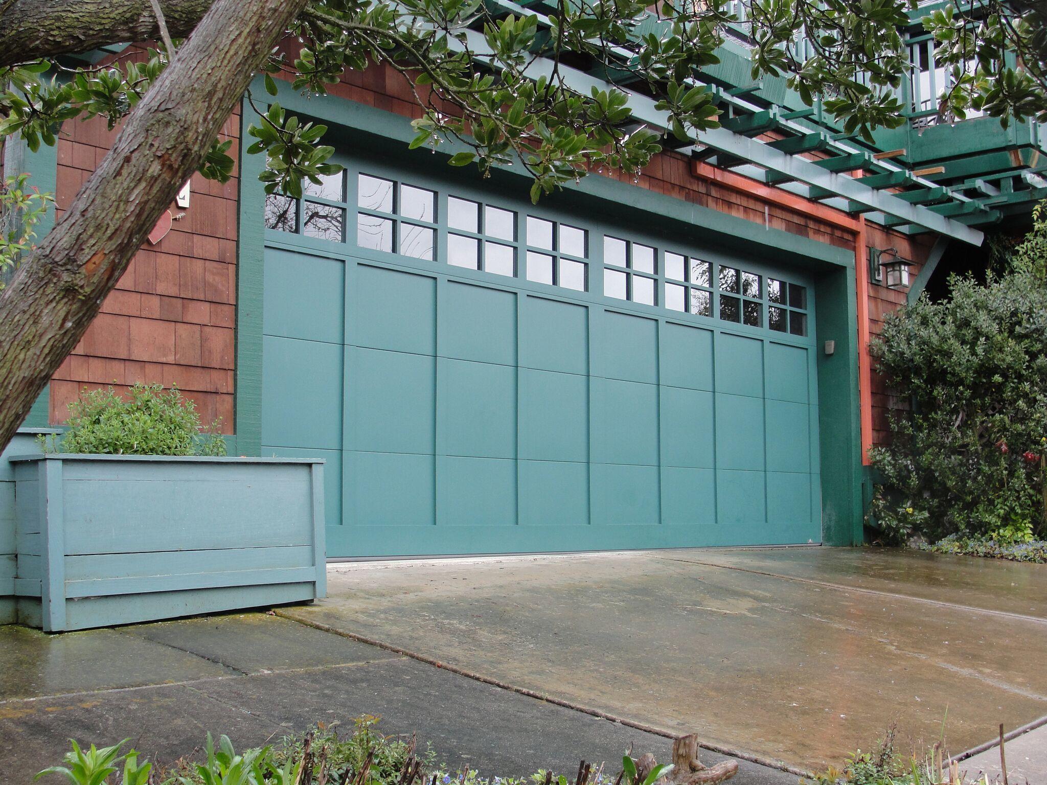 Creative Door_Emerald_Green_Garage_Door