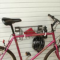 Creative Door Garage Bike Rack