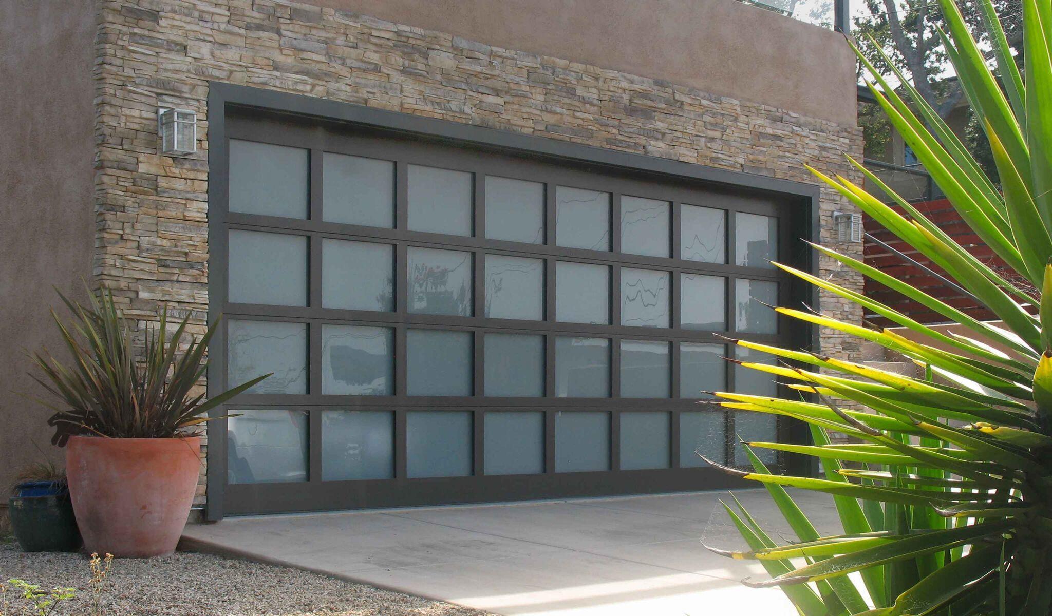 Black Creative Door Garage Door