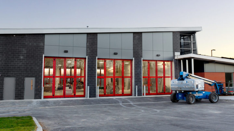 Sectional Overhead Door For Fire Stations Creative Door