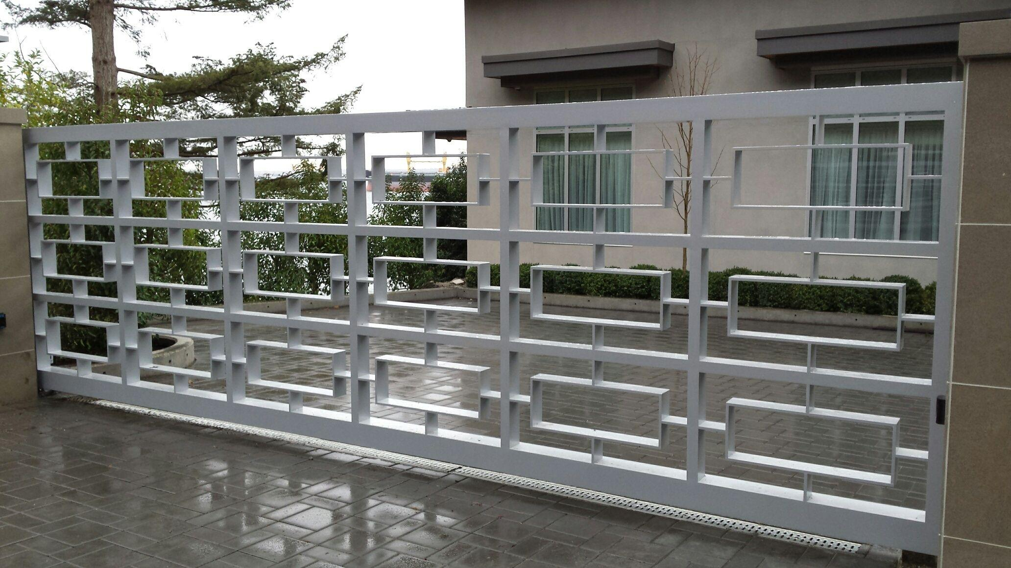 custom residential automatic gate