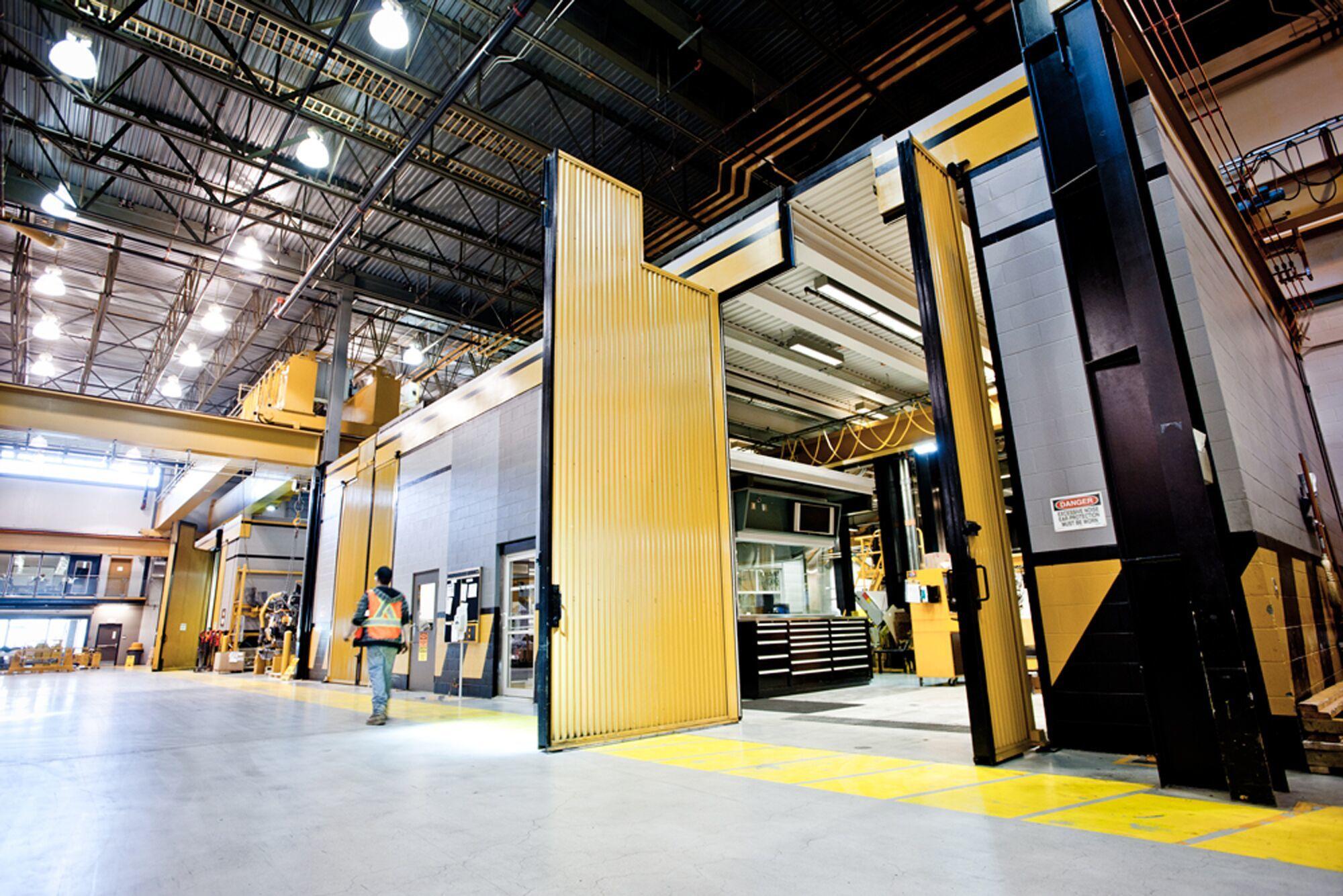 Commercial overhead door access controls