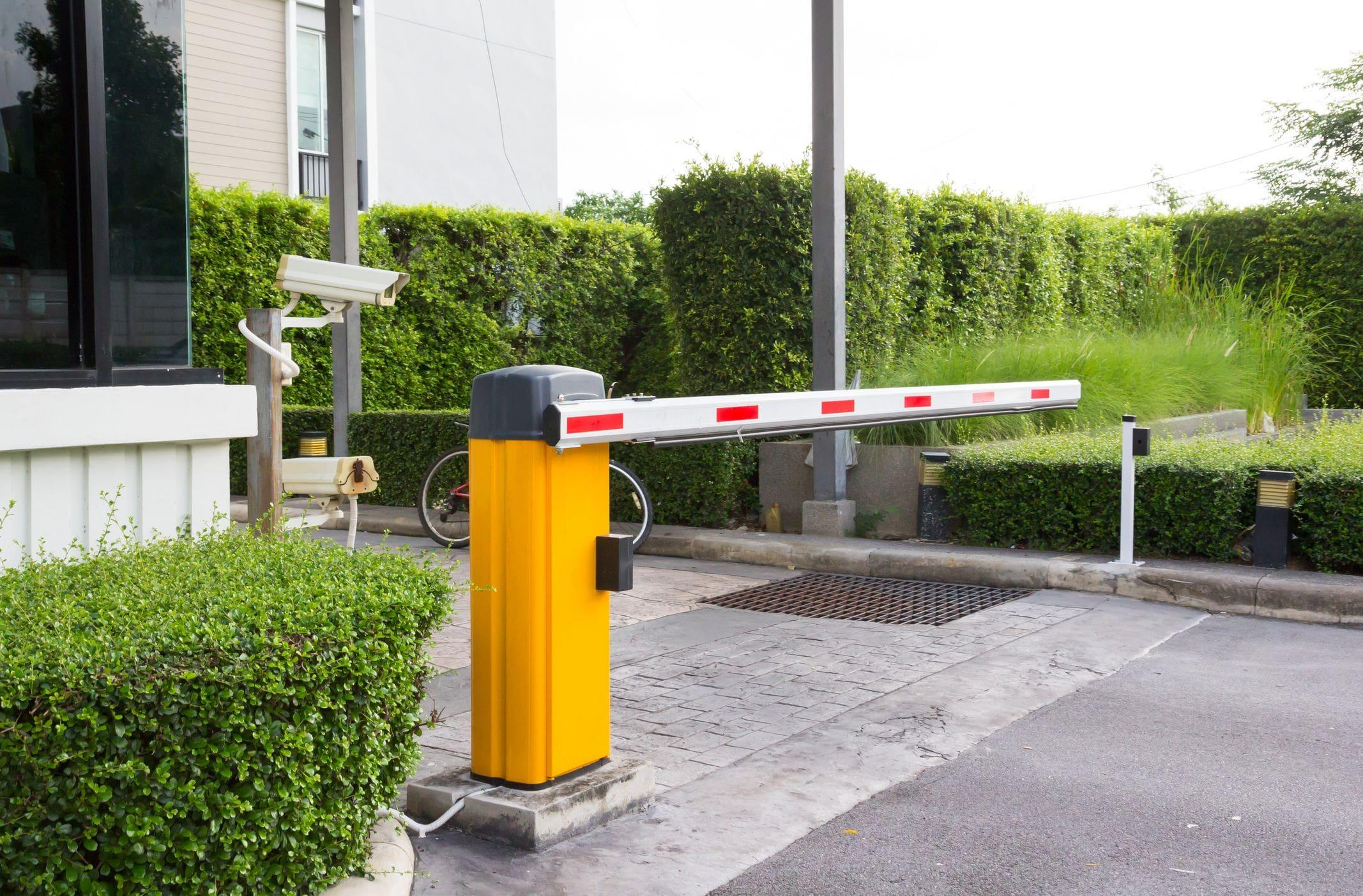 commercial automatic gate entry