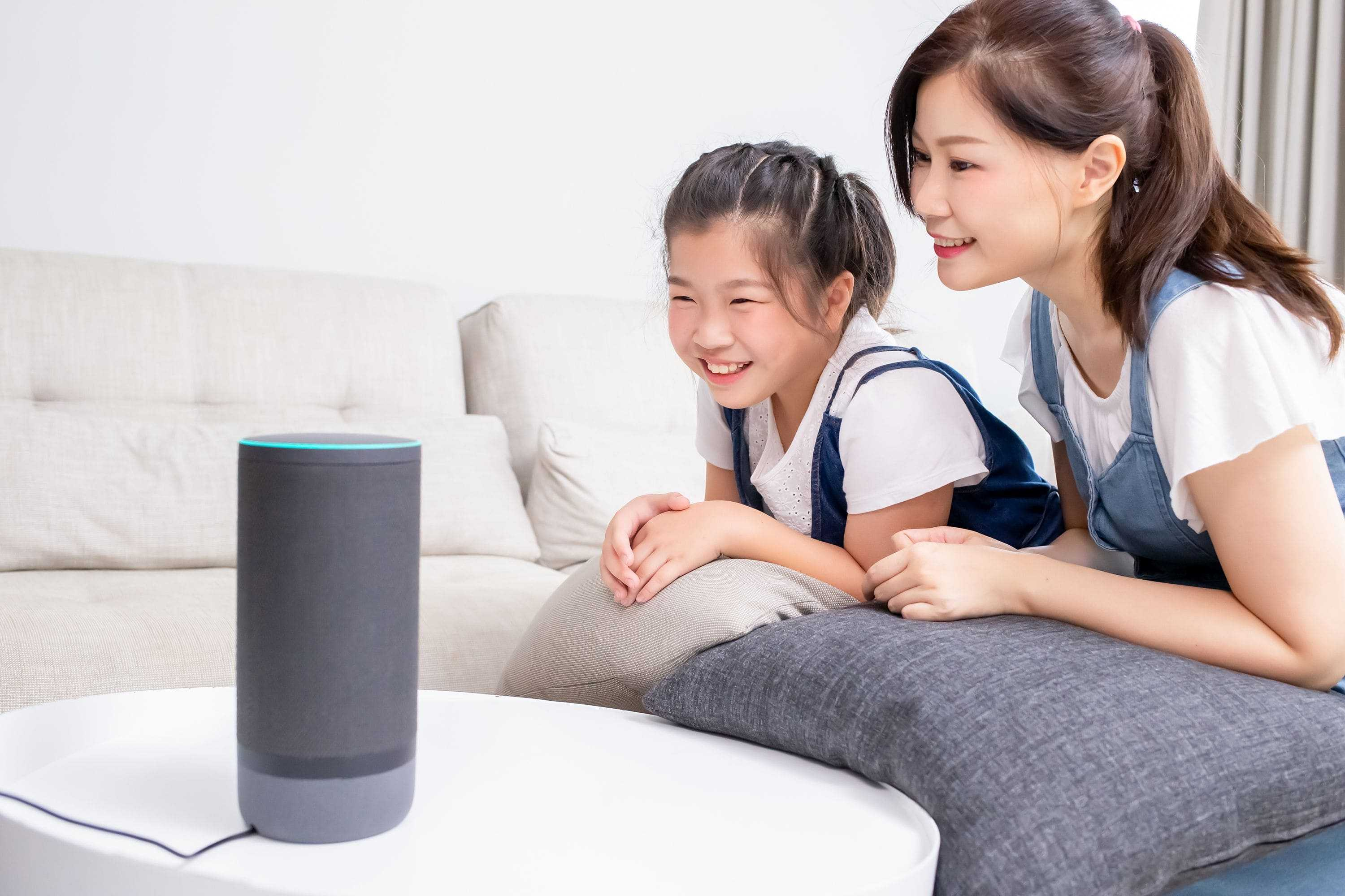 voice commands for home assistant