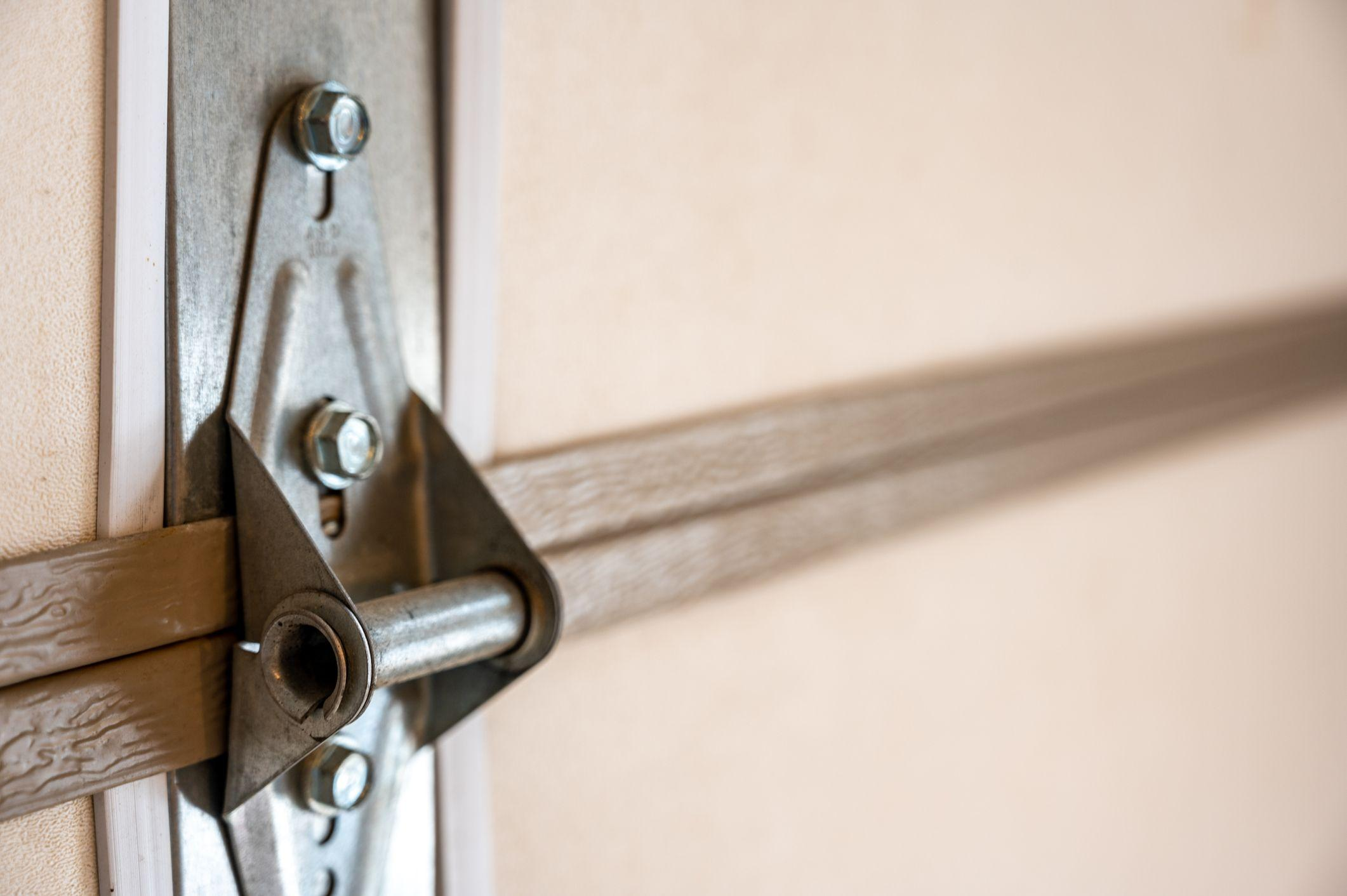 garage door panel hinges