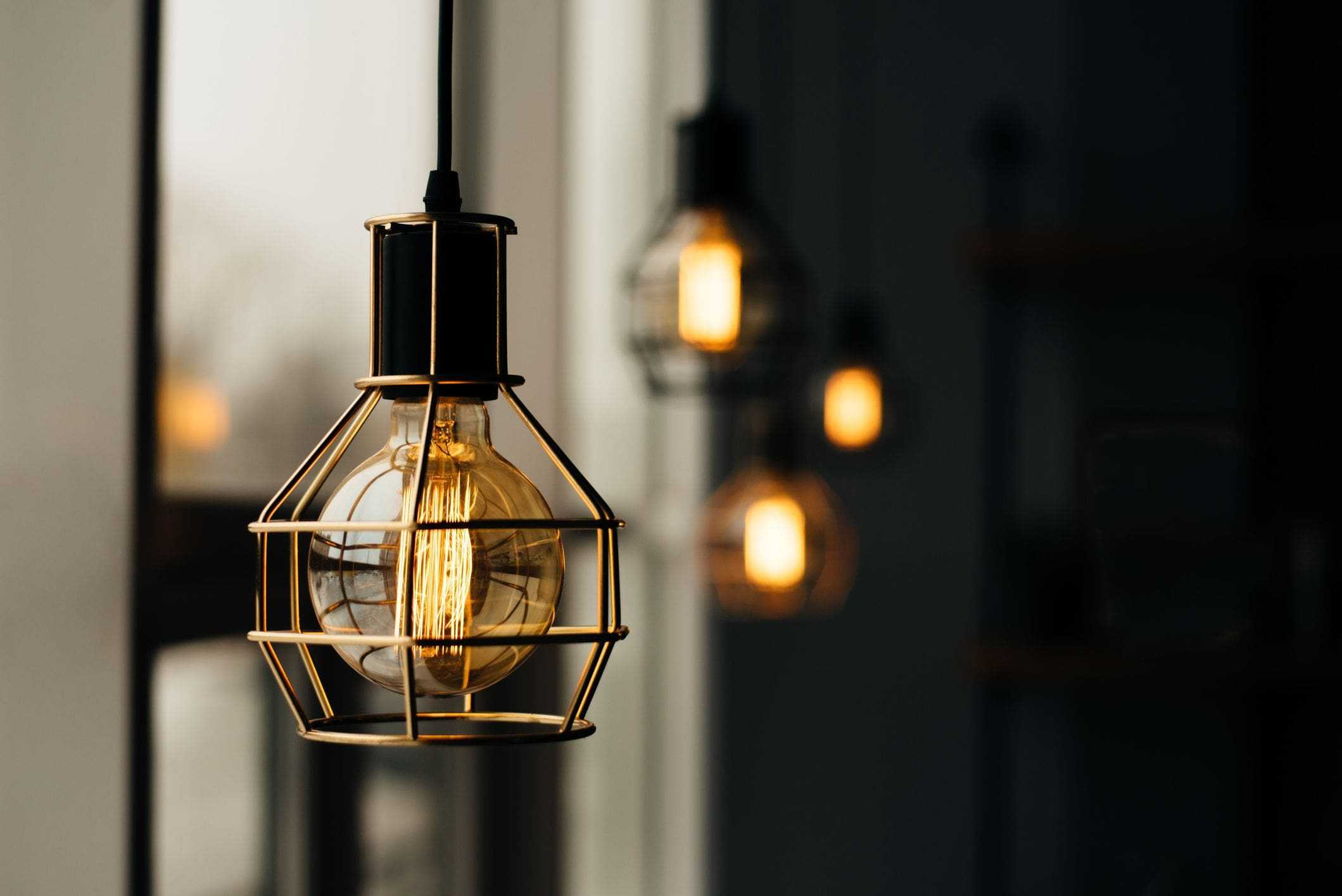rustic modern lighting