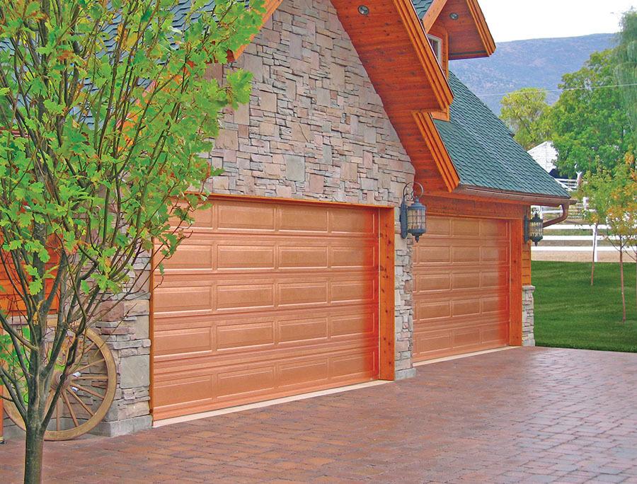 Martin Door Copper Door