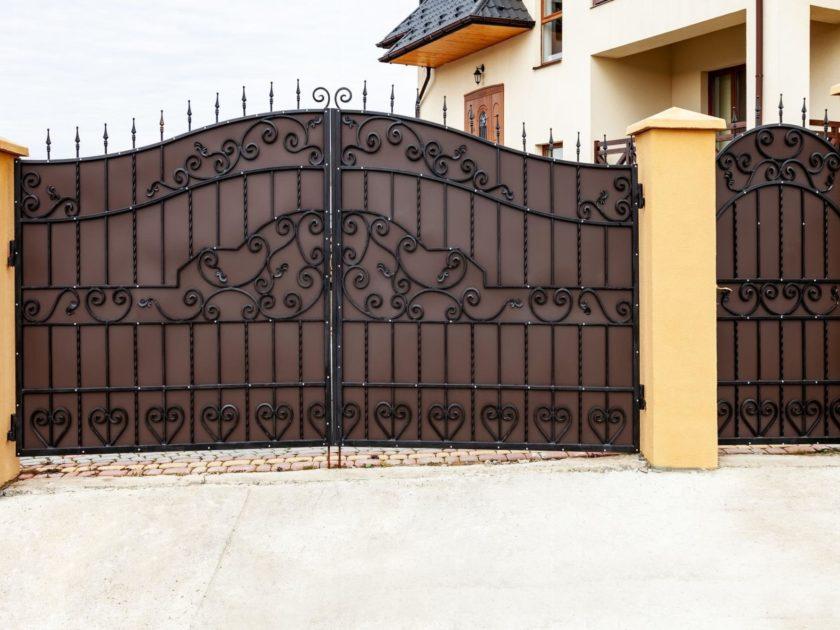 Types Of Metal Driveway Gates Creative Door